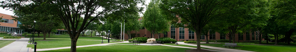 A view of the quad on the Penn State Harrisburg campus